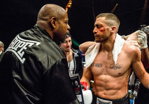 Forest Whitaker and Jake Gyllenhaal in Southpaw.