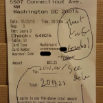 Restaurant Workers 'Shocked' By Generous Tips from Customers Anonymous & Known!
