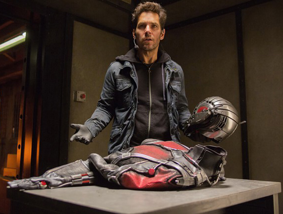 Paul Rudd and the suit of change.