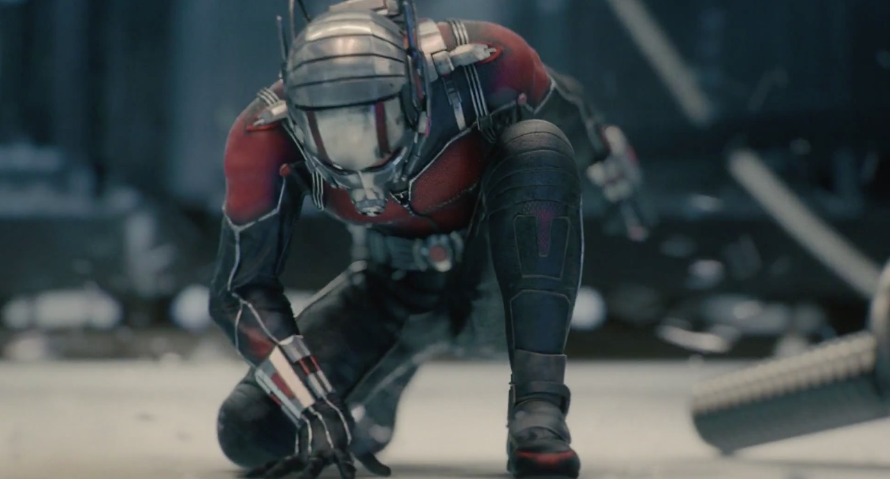 MTV Movie Award winner Paul Rudd is Ant-Man in the Walt Disney Sci-Fi presentation.
