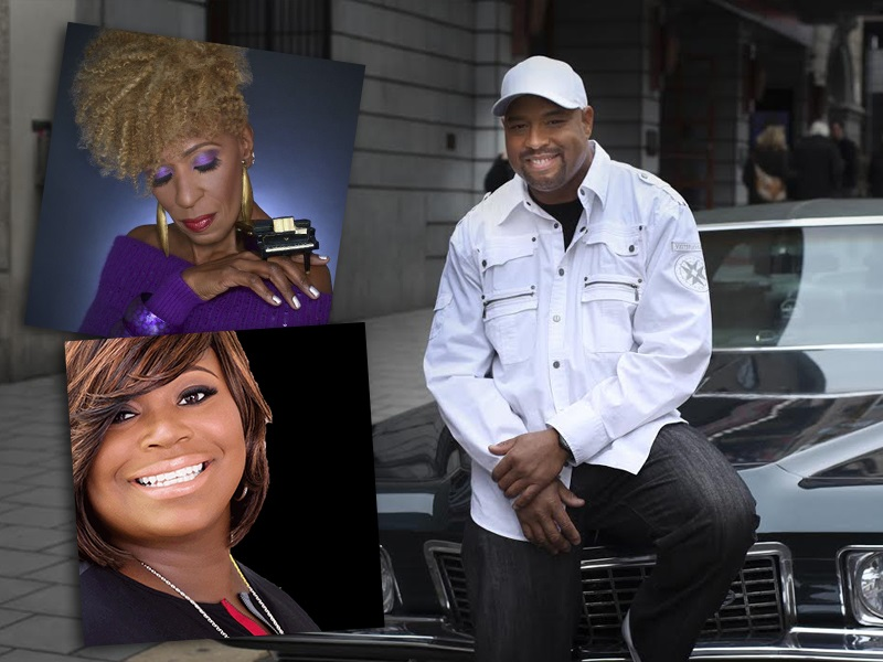 Jazz pianist Aziza Miller, Gospel singer Crystal Aikin and Keyboardist and Soul singer Frank McComb performs as a trio at Rams Head On Stage in Annapolis, Maryland. (Photo Credit: Rams Head On Stage)