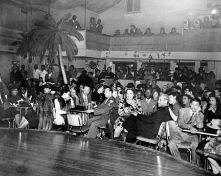 Photo: Club Alabam at 42nd Street and Central Avenue, 1945.