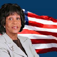 maxine waters - flag1
