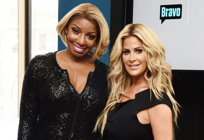 NeNe Leakes and Kim Zolciak Biermann