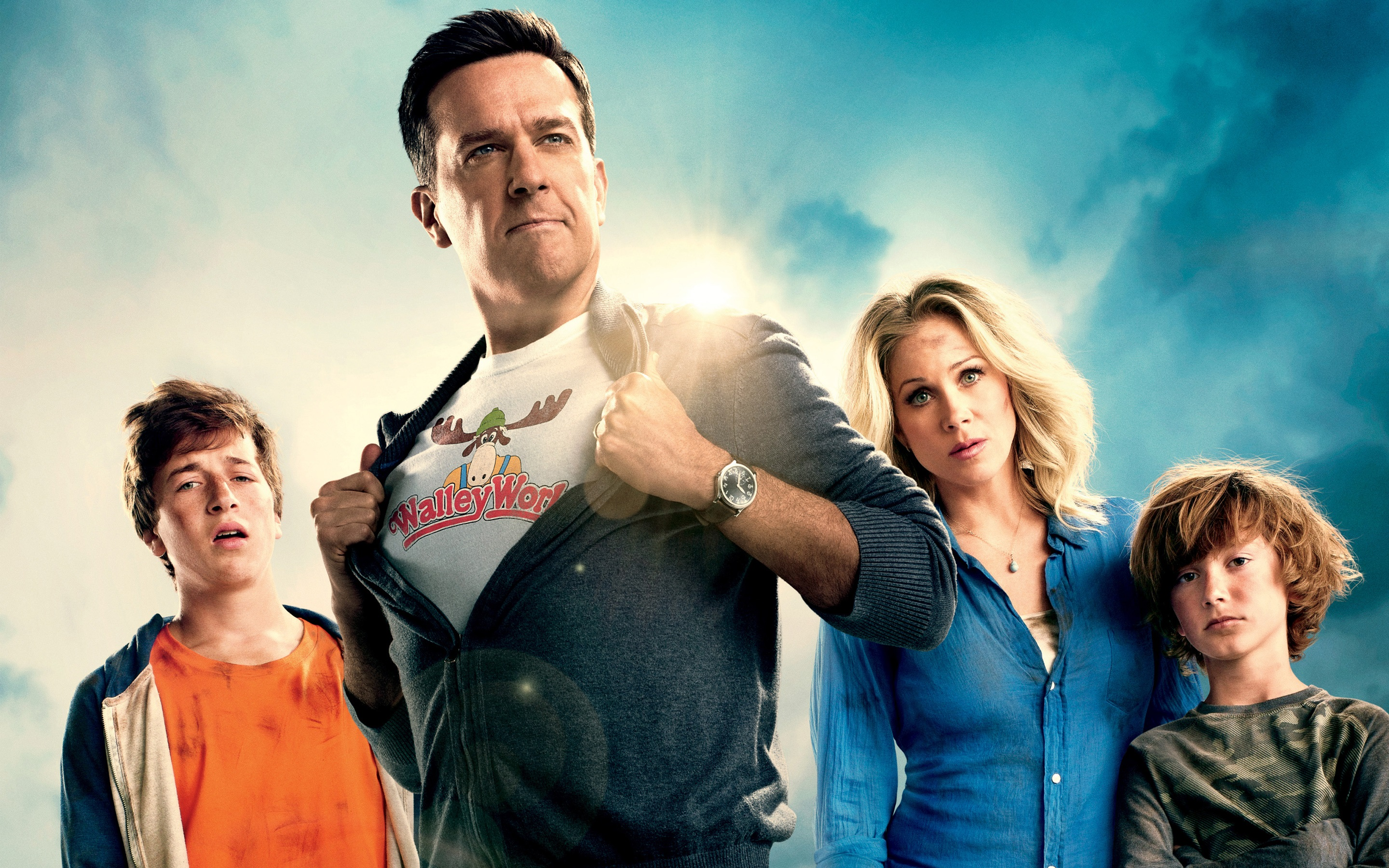 New Line Cinema presents Vacation starring Ed Helms and Christina Applegate as the Griswolds.