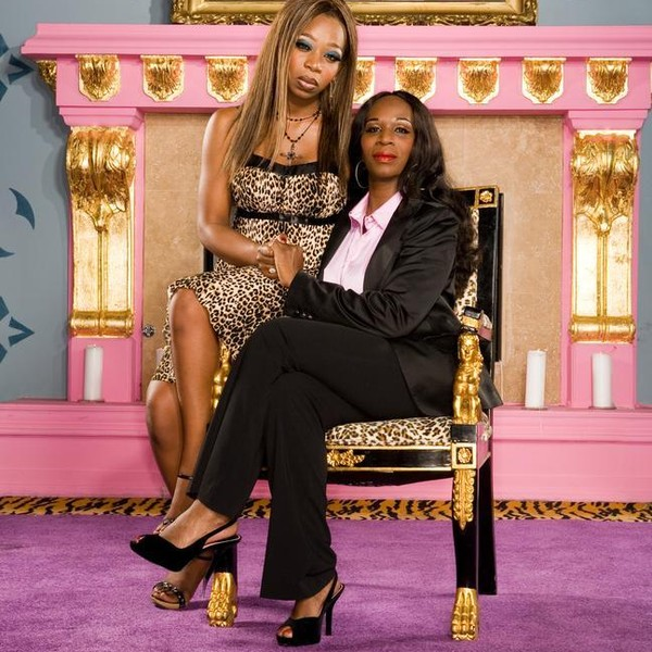 Tiffany Pollard and her mother, Michelle Patterson, in season 1 on I Love New York.