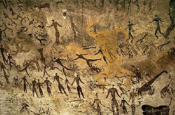 Ancient America Cave Art - California's First Civilazation