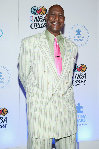 Former NBA Player Darryl Dawkins attends the Autism Speaks Tip-off For A Cure 2015 on March 30, 2015 in New York City.