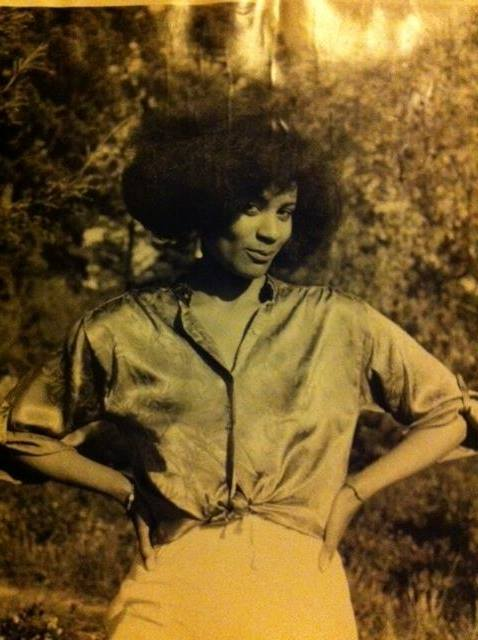 Ms. Pryor in the 70s...