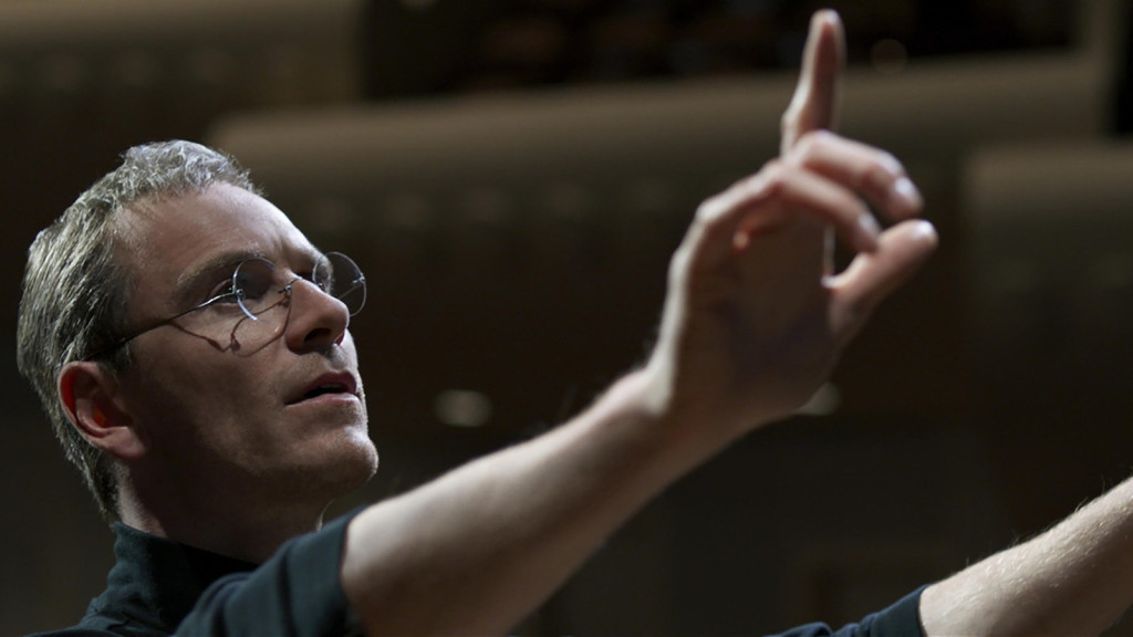 Michael Fassbender as Steve Jobbs in 'Steve Jobs.'
