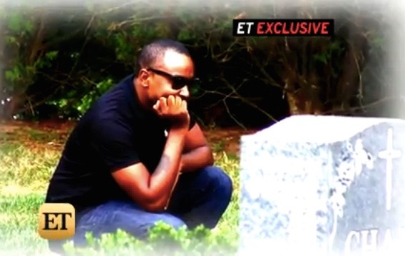 Nick Gordon visits Bobbi Kristina Brown's grave in New Jersey