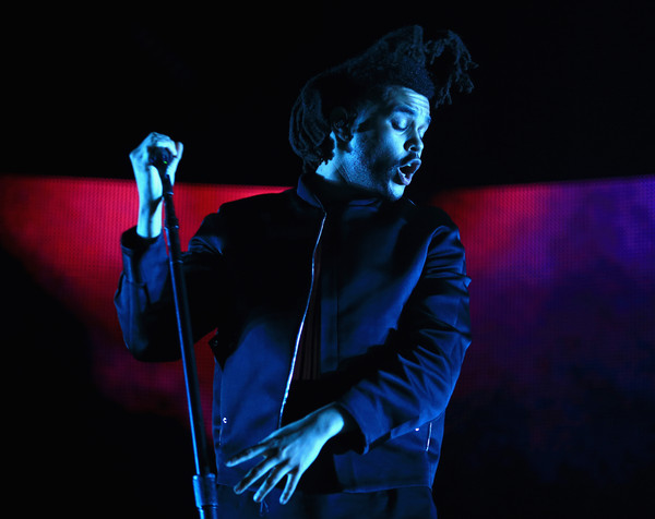 The Weeknd performs onstage during day 2 of the 2015 Coachella Valley Music & Arts Festivalon April 11, 2015.