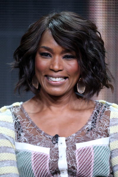 Actress angela bassett speaks onstage during the ahs hotel panel