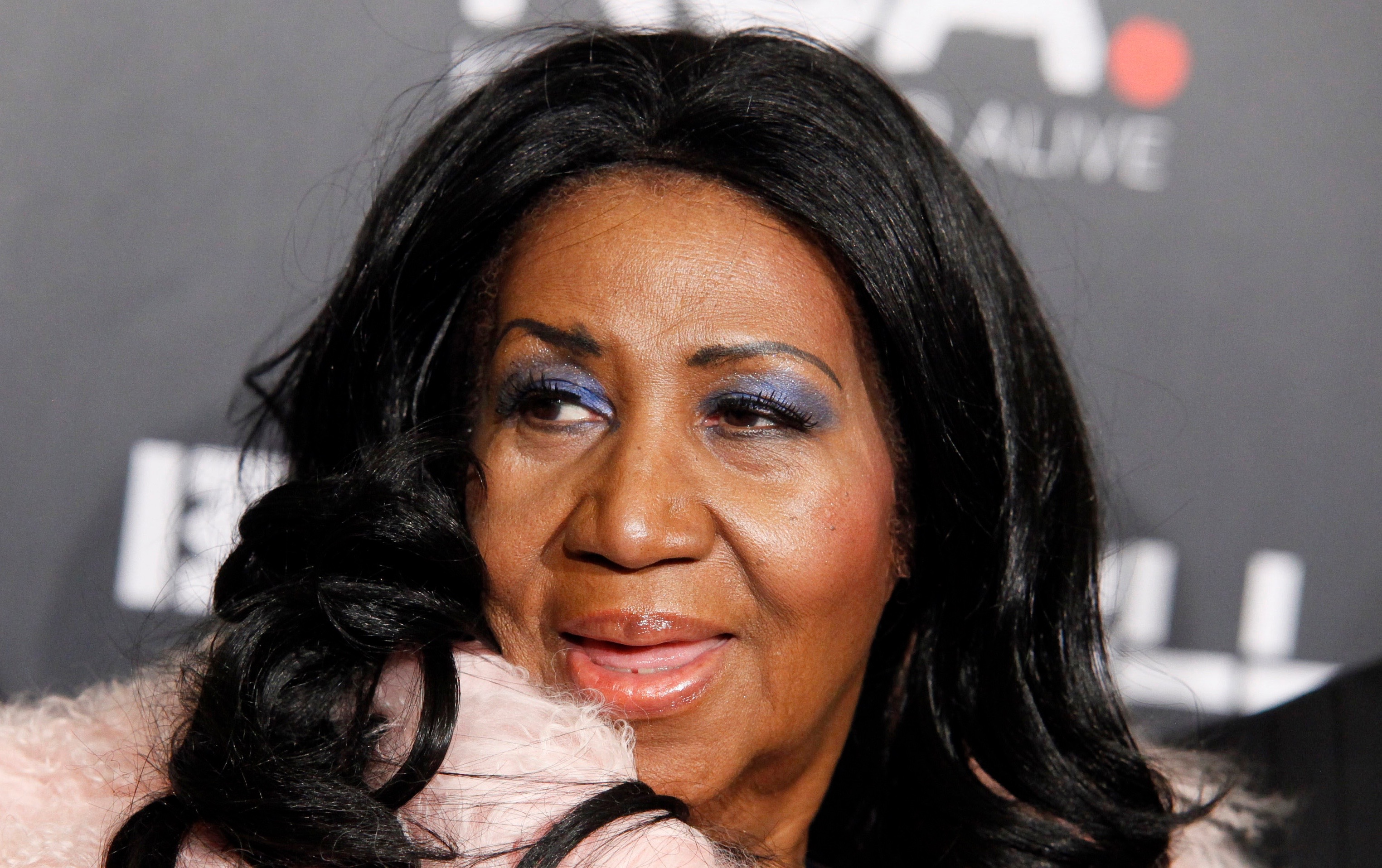 Aretha Franklin attends Keep a Child Aliveís 2014 Black Ball at the Hammerstein Ballroom on Thursday, Oct. 30, 2014, in New York. (Photo by Andy Kropa/Invision/AP)