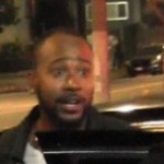 Columbus Short Snatched Up by Bounty Hunters at Universal Studios