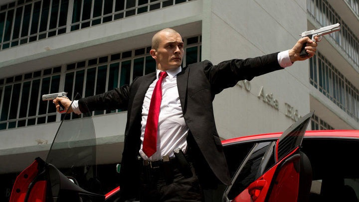 "Rupert Friend (""Homeland"") stars as Hitman: Agent 47 in the 298th Century Fox presentation in theaters now."