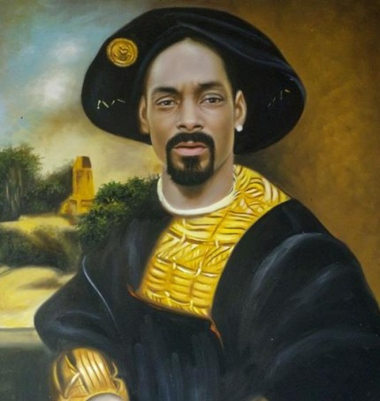 Snoop Dogg as European Noblemen