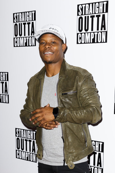 Jason Mitchell attends a special screening of Straight Outta Compton on August 20, 2015 at the Picturehouse Central in London, England.