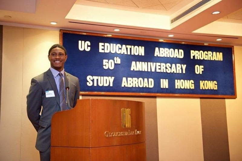 Black International Relations Student Returns Home From China