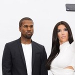 Kanye West Wax Figure Joins Wife for Tour of London