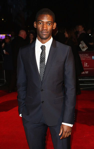 Actor Malachi Kirby attends the Premiere of 'My Brother The Devil' during the 56th BFI London Film Festival at Odeon West End on October 16, 2012 in London, England.