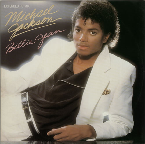 michael jackson bilie jean cd cover
