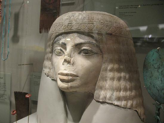 michael jackson looking egyptian sculpture