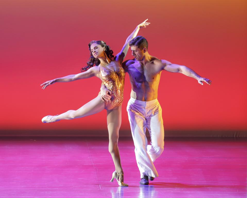 misty copeland on the town
