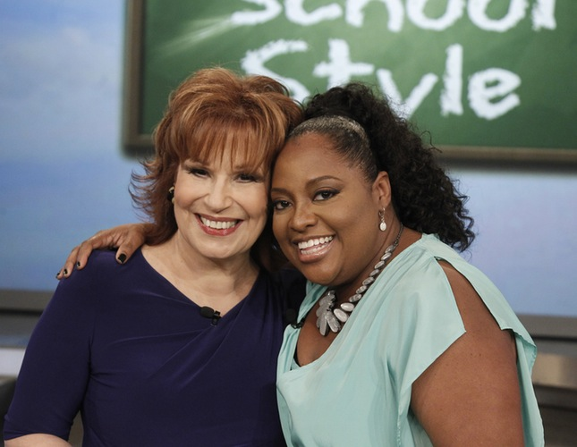 Joy Behar and Sherri Shepherd