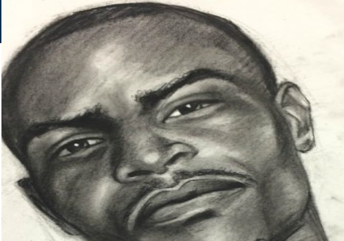 suspect sketch of man who looks like TI