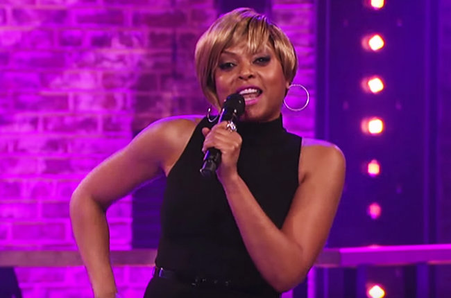 "Taraji P. Henson performs Mary J. Blige's ""Just Fine"" on Spike TV's ""Lip Sync Battle"""