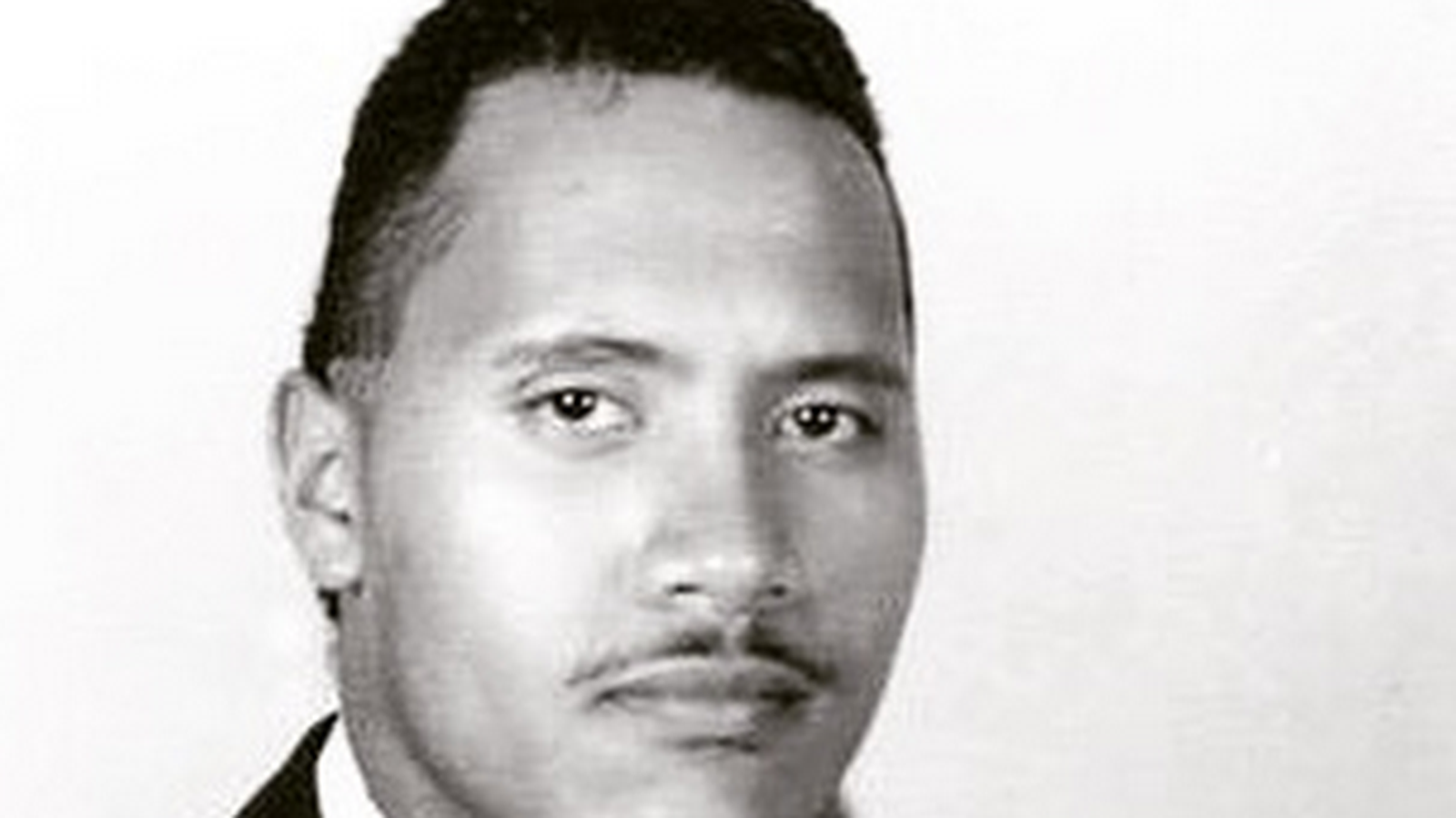 The Rock's High School Photo has Gone Viral (Look) - the_rock_mustache