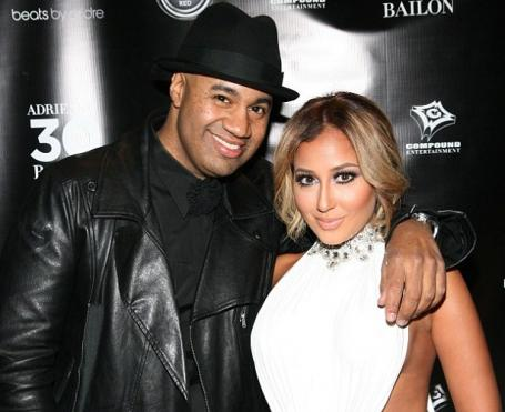 Adrienne and lenny dating