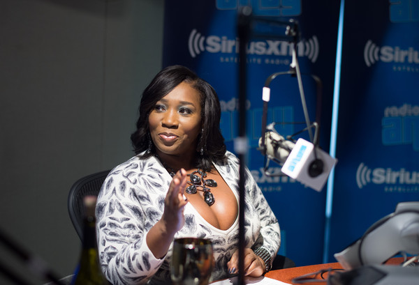 Bevy Smith attends the Bevy Smith's 'Bevelations' On Andy Cohen's SiriusXM Channel Radio Andy In The SiriusXM Studios at SiriusXM Studio on September 12, 2015 in New York City. (Sept. 11, 2015 - Source: Dave Kotinsky/Getty Images North America)
