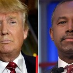 Tied: Trump & Carson who's 'Willing' to Give Kanye Chance at Presidency