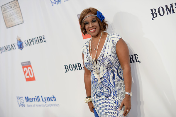 Gayle King attends Russell Simmons' Rush Philanthropic Arts Foundation on July 18, 2015 in New York. (image via Zimbio)