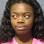 Kailin Holland, 17, was arrested Wednesday on felony battery charges after allegedly dragging a McDonald's worker out of a service window