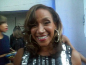 Grammy nominated Kathy Sledge (Sister Sledge) on the red carpet arrivals of the BMI R&B/Hip-Hop Awards. (Photo Credit: Eunice Moseley)