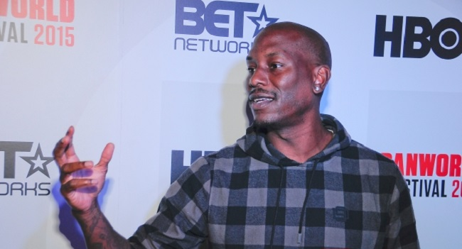 tyrese at 19th annual urban world festival