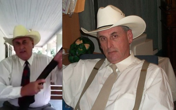 """Nathan Ener makes a public vow to avenge the death of deputy Darren Goforth, """"Me and my boys will take care of it."""""""