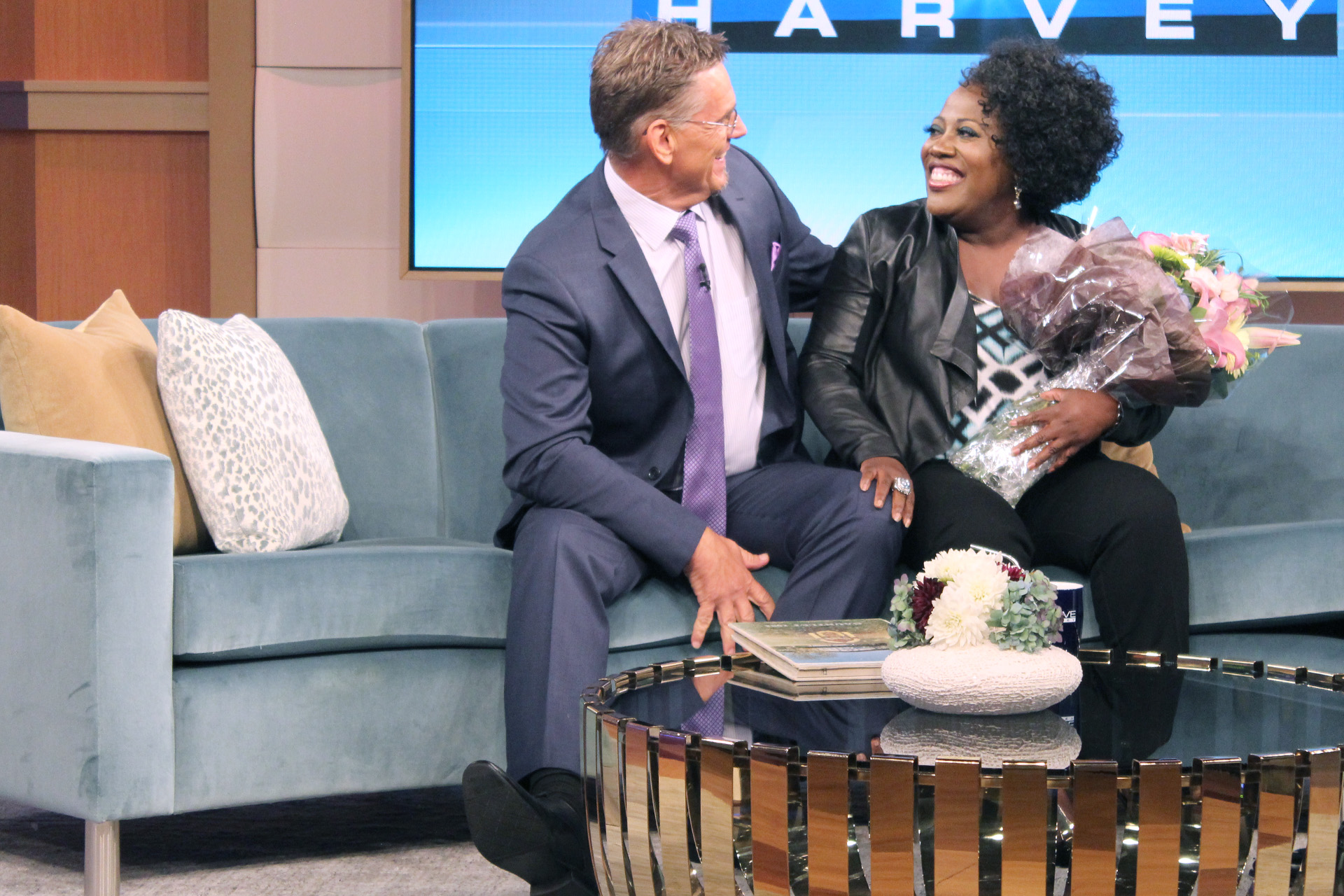 """Sheryl Underwood surprised by the boy she kissed on graduation night on """"The Steve Harvey Show"""""""