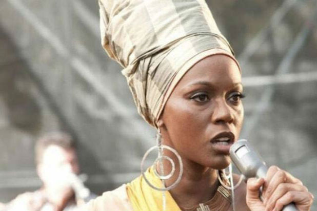 "Zoe Saldana as Nina Simone in ""Nina"