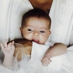 Evan Ross, Ashlee Simpson Reveal First Pic of Daughter Jagger