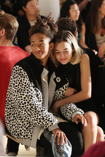Jaden Smith and Sarah Snyder attend the Gypsy Sport fashion show during Spring 2016 MADE Fashion Week at Milk Studios on September 15, 2016 in New York City.