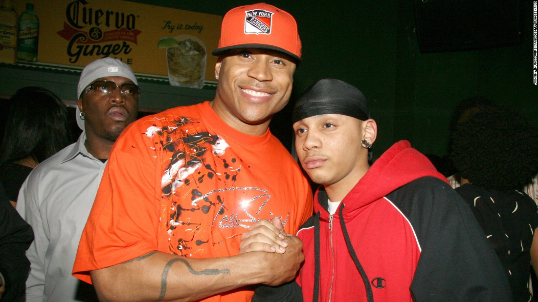 LL Cool J and son Najee Smith
