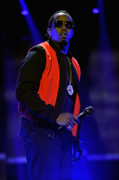 Rapper Sean 'Puff Daddy' Combs performs onstage at the 2015 iHeartRadio Music Festival at MGM Grand Garden Arena on September 19, 2015 in Las Vegas, Nevada