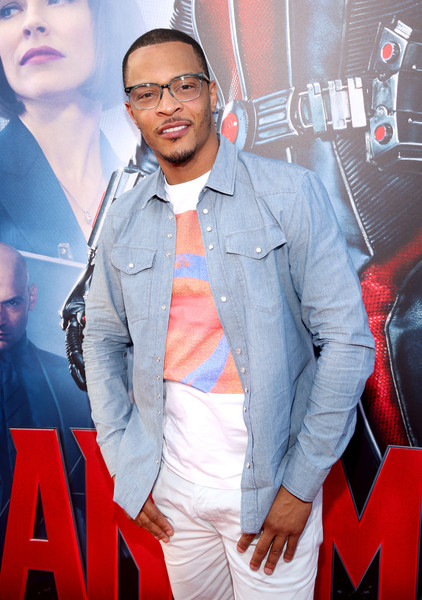 "Actor/rapper Tip ""T.I."" Harris attends the world premiere of Marvel's ""Ant-Man"" at The Dolby Theatre on June 29, 2015 in Los Angeles, California"