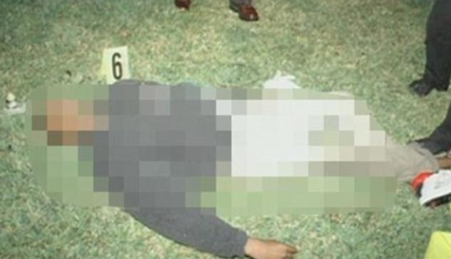 trayvon martins dead body (pic tweeted by zimmerman)