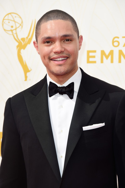 Trevor Noah attends the 67th Emmy Awards at Microsoft Theater on September 20, 2015 in Los Angeles, California