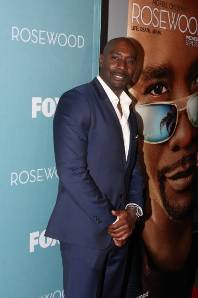 """Morris Chestnut Attends the """"Rosewood"""" Screening Tour  in New York Photo Credit: Johnnie Nunez"""
